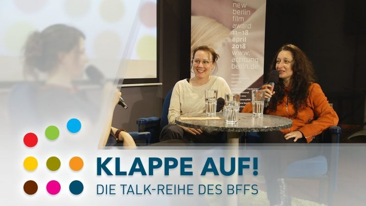 Lucia Chiarla, Eva Löbau & Simona Theoharova / BFFS Klappe Auf! Berlin 2018